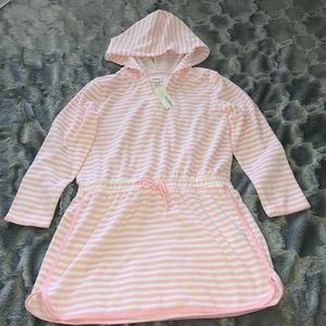 Gymboree hooded long sleeve swim coverup/towel